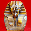 King Tut Bust Mask Tutankhamun Statue