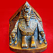 Egyptian Ancient Giza Pyramid with Sphinx