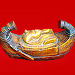 Ancient Egyptian Ashtray Boat