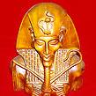 Egypt Pharaoh Akhenaton Akhenaten Bust Statue Sculpture