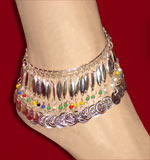 Silver Upper Arm and Ankle Bracelet