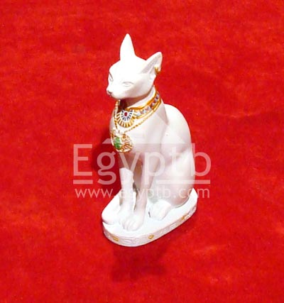 Ancient Egyptian Bastet Cat Bast Goddess Statue