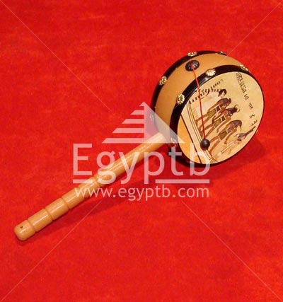 Egyptian Art Crafts Shaker Drum Instrument