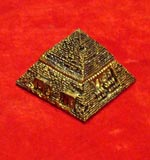Pyramid Treasure Box Container Statue Figure Egypt