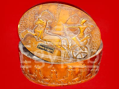 Egyptian King Ramses II in His Chariot1 Box