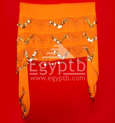 Beautiful Belly Dance Hip Scarf