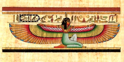 Winged Maat
