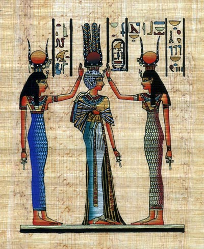 Coronation Of Queen Nefertari