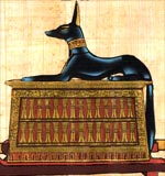 Anubis the Guardian of the Dead