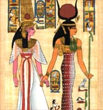 Queen Nefertari Led By Isis