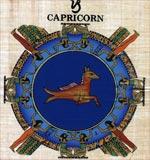 Capricorn Zodiac Papyrus