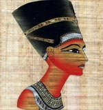 Bust Of Queen Nefertiti