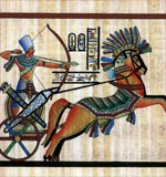 Ramses II in His Chariot1