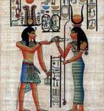 Ramses And Hathor