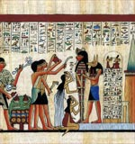 Mummification Egyptian Papyrus
