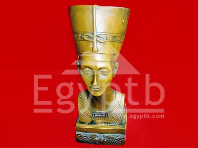Nefertiti Bust Ancient Egyptian Queen Figure Statue