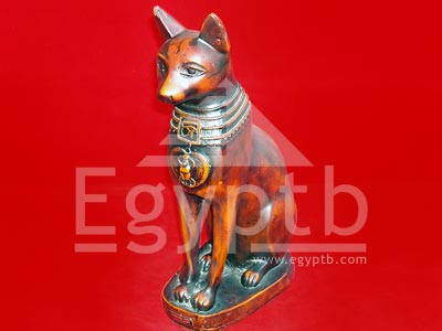 Bastet Egyptian Cat Figurine Statue Goddess
