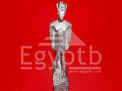 Egyptian Ramses Black Stone Statue Beautiful Hand Carved