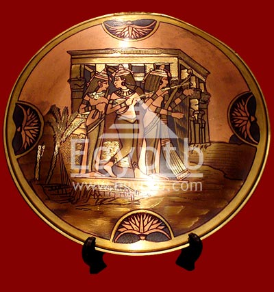 The Musicians Girls Brass Plate