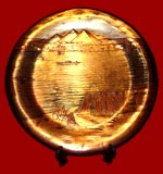 Pyramid Nile Rever Brass Plate